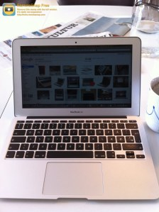 Min trofaste MacBook Air - just love it